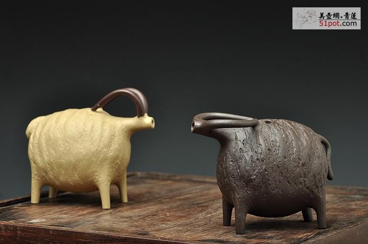 动物造型茶壶图片