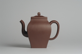 紫砂壶图片:美壶特惠 全手工镶接四方吉金壶 泥料超好 茶人醉爱 - 美壶网