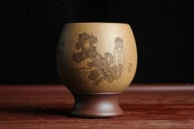 紫砂壶图片:精品紫砂杯 私人定制 紫泥粉段泥 清供文气 手感特扎实 茶人醉爱 每个都不一样 - 美壶网