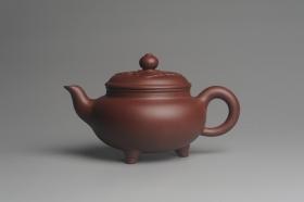 紫砂壶图片:美壶特惠精工大彬如意壶 做工精致 茶人醉爱 - 美壶网