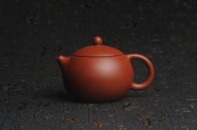 紫砂壶图片:美壶特惠 油润大红袍朱泥 小品西施壶 茶人醉爱 - 美壶网