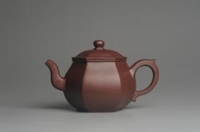 紫砂壶图片:全手工六方高韵 韵味悠长 - 美壶网