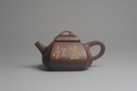 紫砂壶图片:美壶年底特惠 大气端庄 线条流畅 精致全手工抽角石瓢 - 美壶网