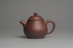 紫砂壶图片:美壶特惠 全手工优质老拼紫泥刹凹成型单片拍打潘壶 - 美壶网