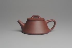 紫砂壶图片:美壶年底特惠 精工好紫泥曲石瓢 喜欢小品的来 性价比高 - 美壶网