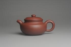 紫砂壶图片:油润底曹青 全手工仿古 深得老味 做工特好 - 美壶网