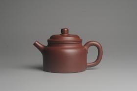 紫砂壶图片:油润黄龙山4号深井红皮龙 全手工德中壶 - 美壶网