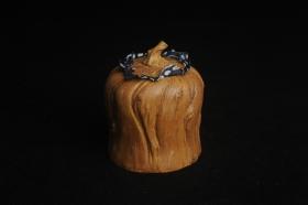 紫砂壶图片:特惠文气树桩茶叶罐 - 美壶网