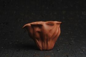 紫砂壶图片:特惠精致降坡泥荷叶公道杯 特文气 茶人醉爱 - 美壶网