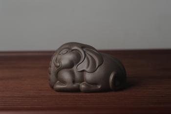 紫砂壶图片:迎中秋特惠 精工好料大象紫砂茶宠 太平有象 - 宜兴紫砂壶网