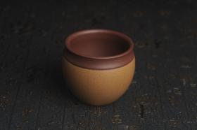 紫砂壶图片:美杯国庆特惠 精品好泥好工雅致特厚实缸杯主人杯二式 - 美壶网