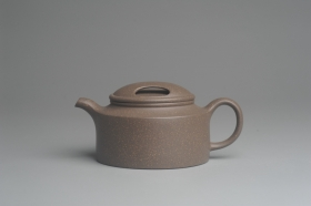紫砂壶图片:美壶特惠 精致青段牛盖井栏茶壶 茶人醉爱 - 美壶网