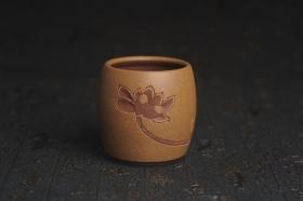 紫砂壶图片:美杯国庆特惠 精品好泥好工雅致厚实清莲主人杯三式 - 美壶网