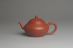 紫砂壶图片:美壶特惠 精致好朱泥梨形壶 茶人醉爱 - 美壶网