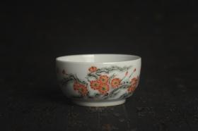 紫砂壶图片:玄辰器 精品古彩 清风自远 主人杯压手杯 景德镇茶杯 茶人醉爱 - 美壶网