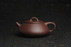 紫砂壶图片:美壶年底特惠 精致优质紫泥线瓢壶 - 美壶网