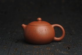 紫砂壶图片:油润降坡泥全手工小品西施壶 装饰居不可无竹 特文气 - 美壶网