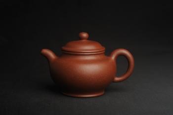 紫砂壶图片:美壶特惠 精致红降坡泥大亨掇只壶 茶人醉爱 - 宜兴紫砂壶网