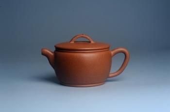 紫砂壶图片:美壶特惠 精致黄降坡泥汉瓦壶 茶人醉爱 - 宜兴紫砂壶网