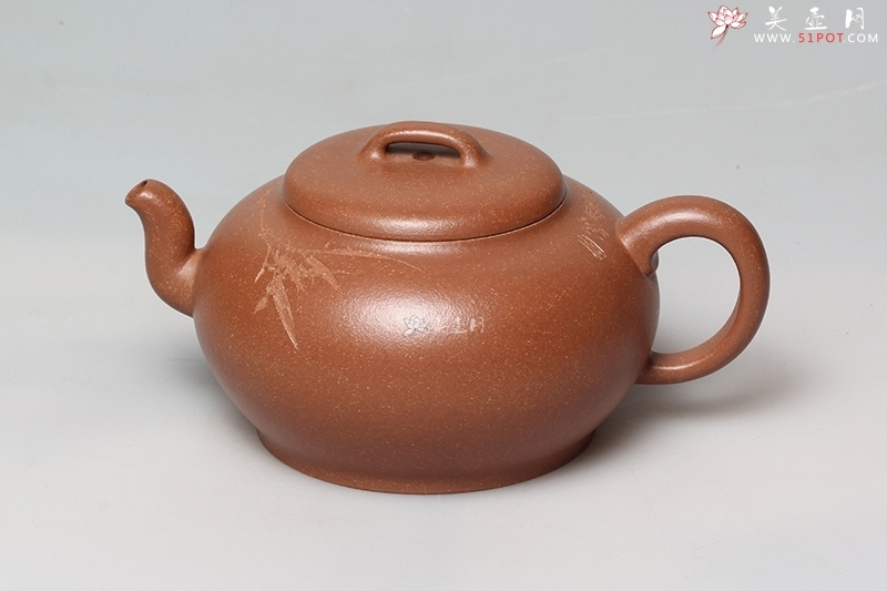 紫砂壶工艺艺术师林小龙作品思意 泥料 美壶网图片