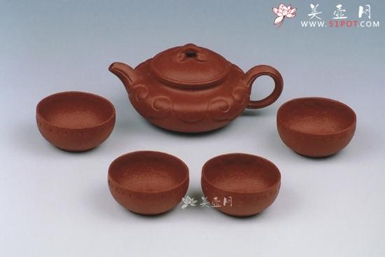 紫砂壶工艺师陈成作品如意套壶
